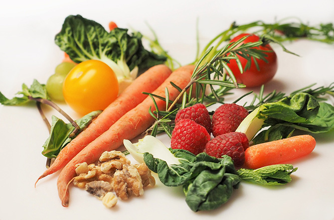 Berries and vegetables are foundation of the Nordic diet.