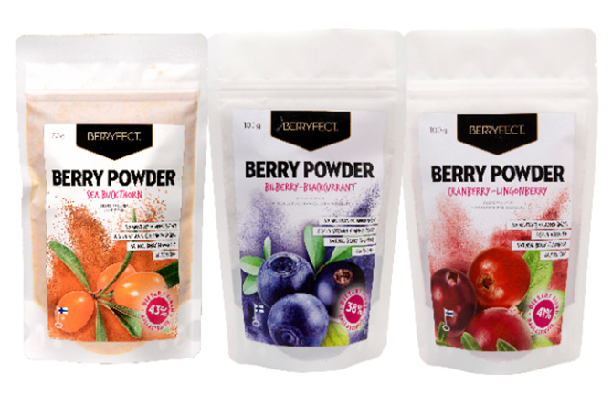 New raw berry products in the UAE