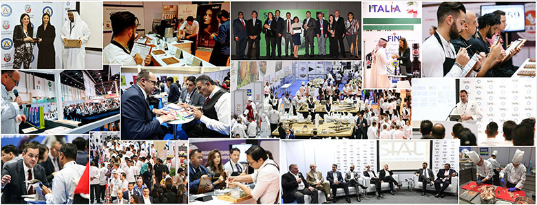 SIAL ME trade show in Abu Dhabi in 2016